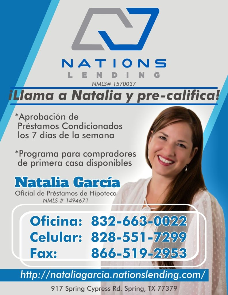 Natalia Garcia Display Ad